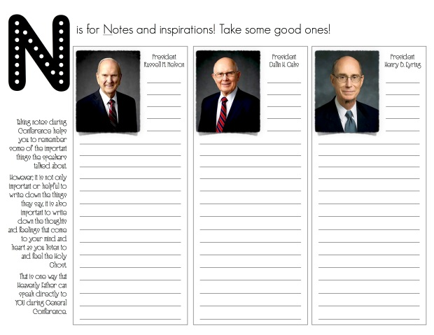 First Presidency and Quorum NOTES Update